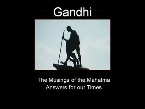 Essay on Mahatma Gandhi - 1657 Words - studymodecom
